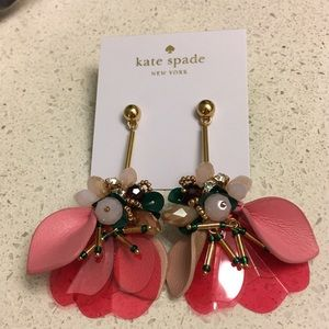 Kate Spade Vibrant Life Linear Earrings NWT